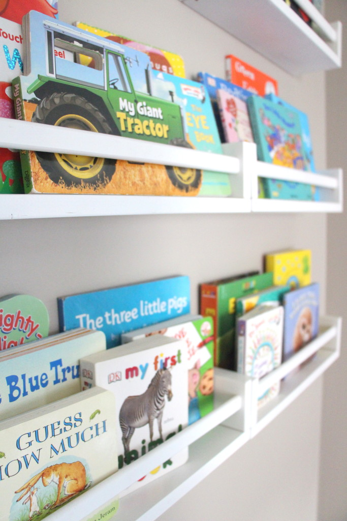 DIY Reading Nook w/ bookshelves