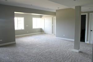 Basement progress - carpet - This is our Bliss