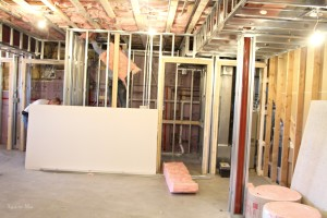 basement progress - This is our Bliss