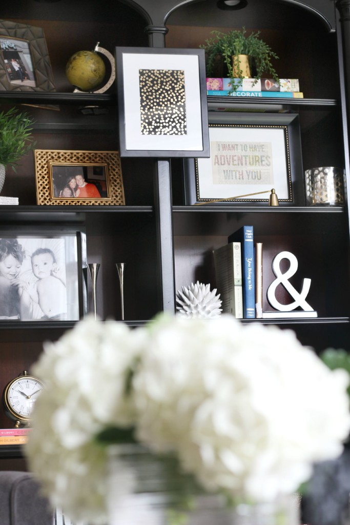 Bookcase styling   How to style a bookcase   This is our Bliss