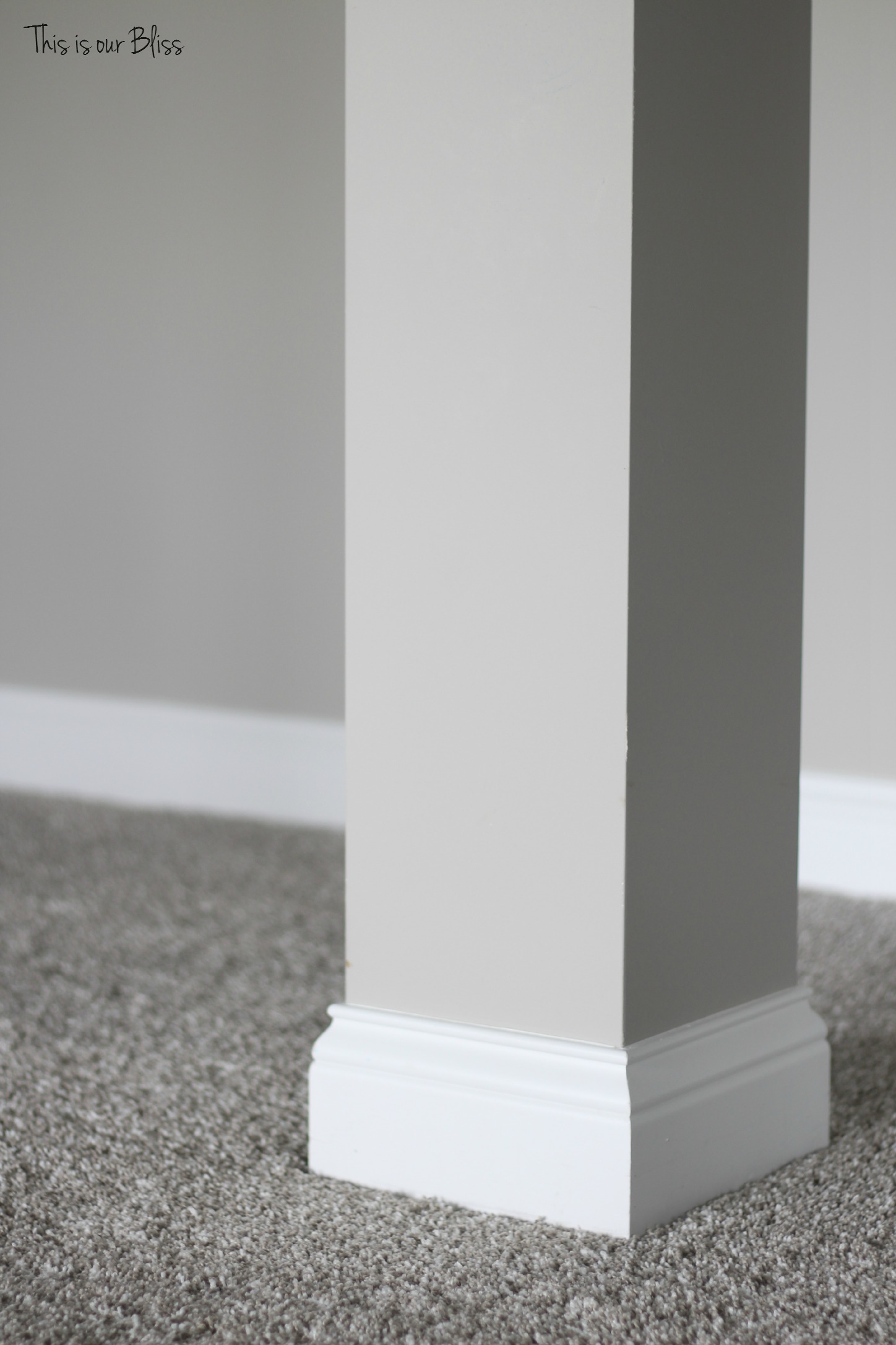 this is our bliss basement project - paint & carpet sources - This is our Bliss