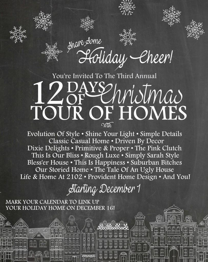 12 days of christmas tour