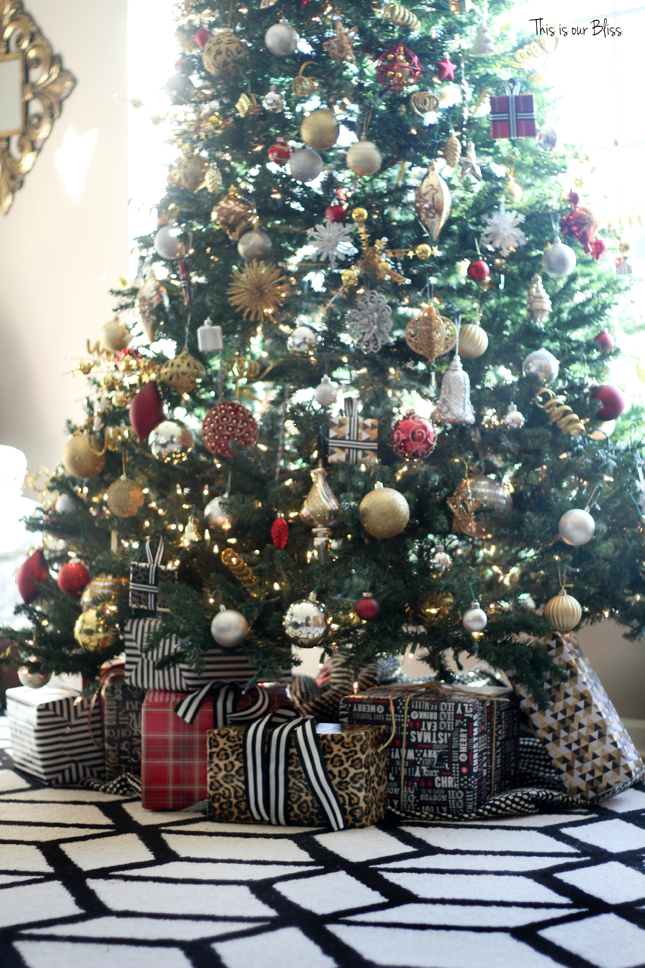 My Home Style Christmas Tree Edition Bold Neutral Glam This Is Our Bliss