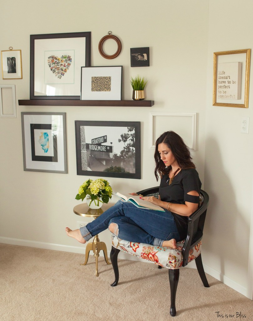 This is our Bliss in-home shoot - chair - thisisourbliss.com