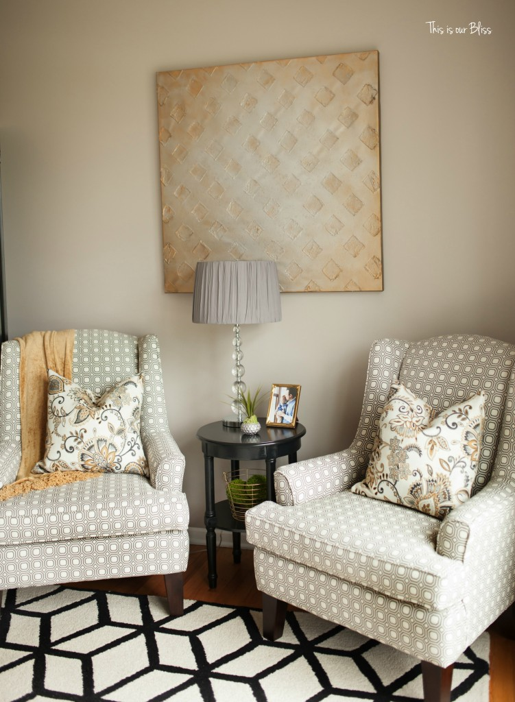 This is our Bliss in-home shoot - formal living room chairs - thisisourbliss.com