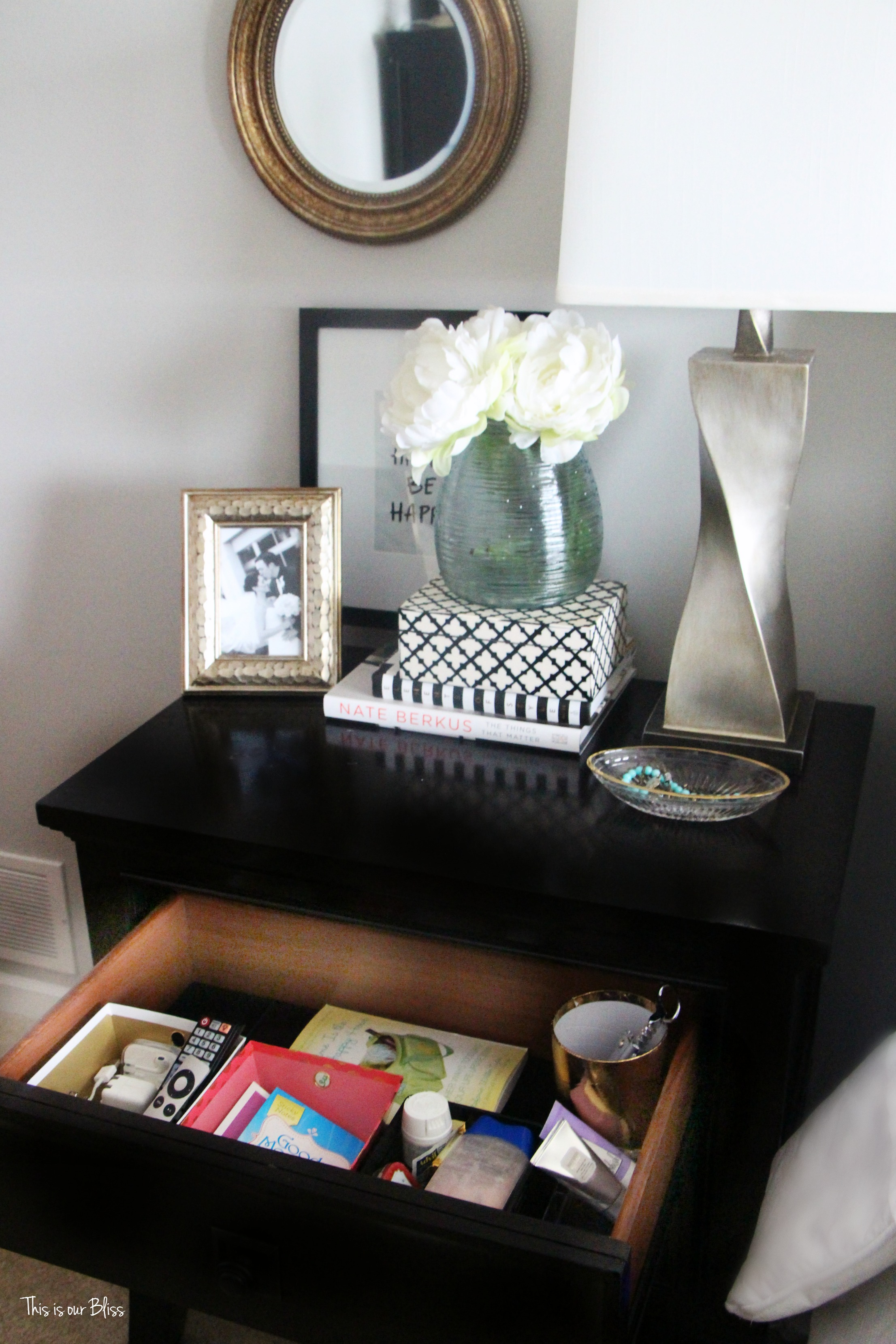 Operation Organize Everything Starting Small Bedside