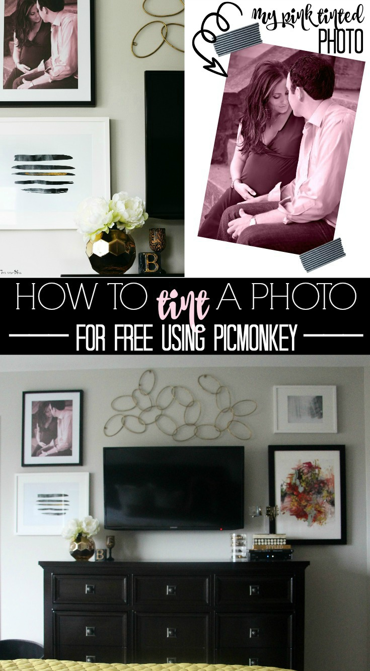 How to tint a photo