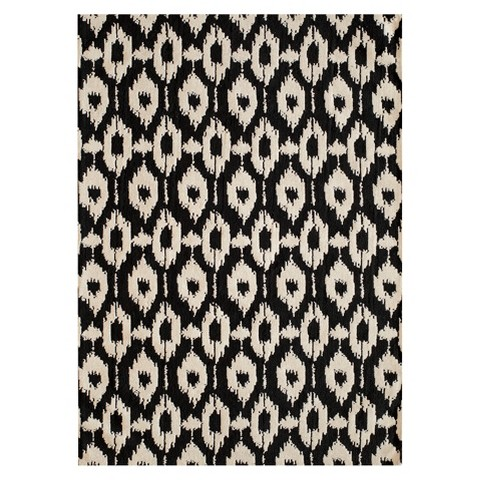 Sophia black and white area rug | top black and white rugs | This is our Bliss