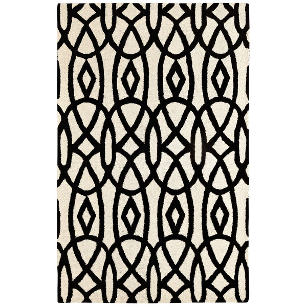 Dynamic-Rugs-Palace-Ivory-Black-Area-Rug - This is our Bliss