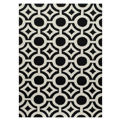 Target Webster black and white rug This is our Bliss