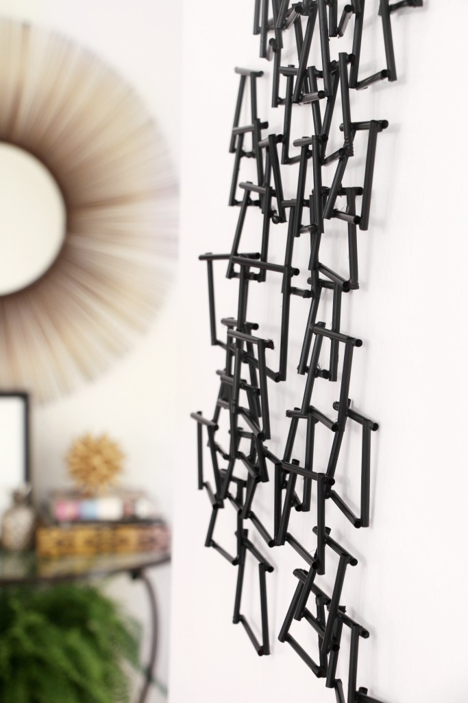 Inspired by DIY Pottery Barn Inspired wall sculpture PB wall decor knock off This is our Bliss www.thisisourbliss.com