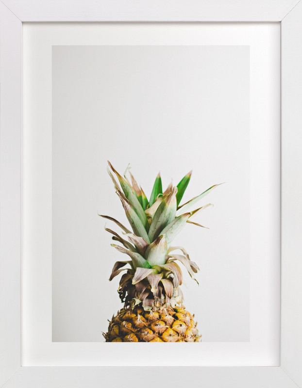 Minted Pineapple Print | This is our Bliss