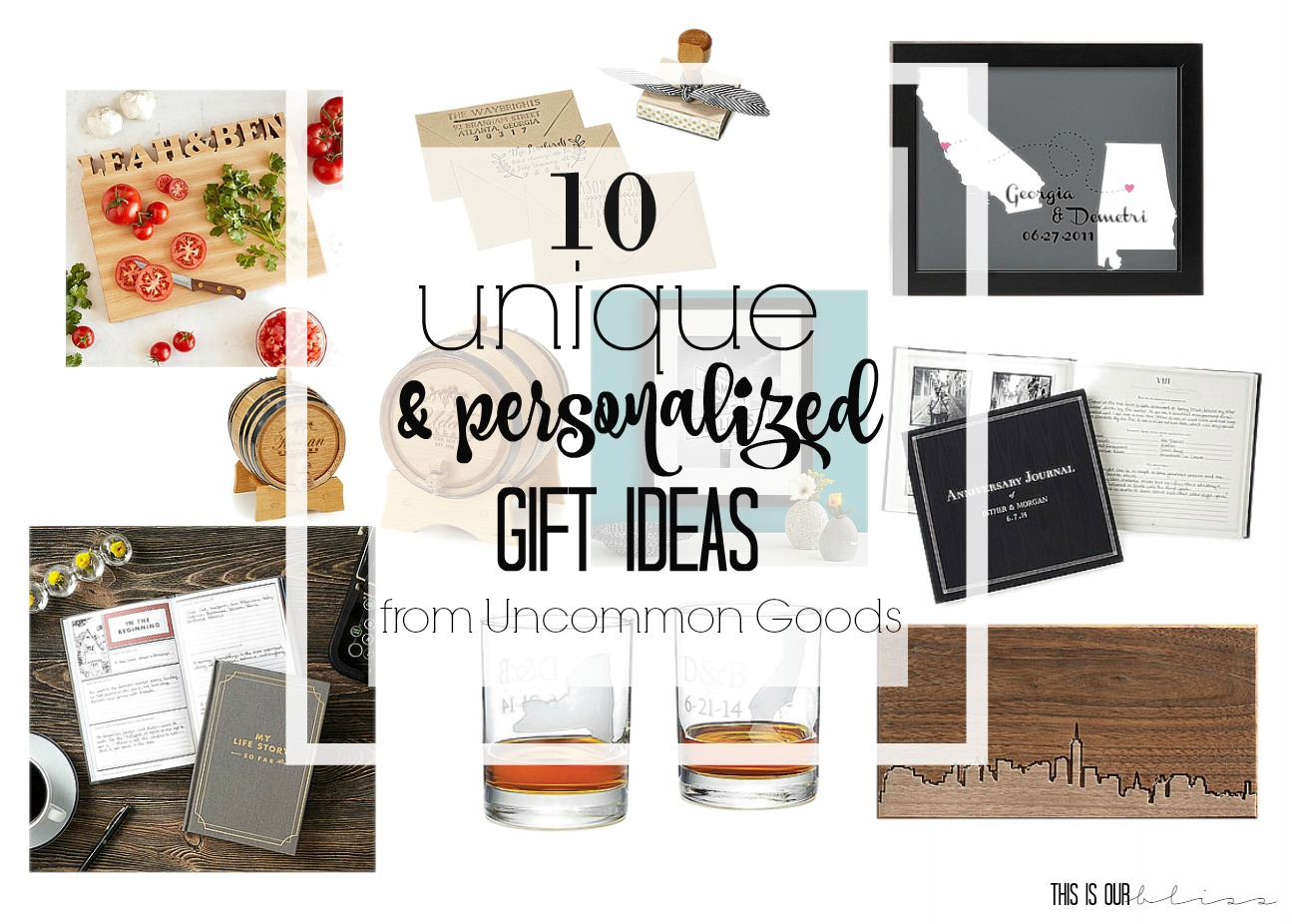 Where to buy unique and personalized gifts 10 unique and personalized gift ideas from uncommongoods this is our bliss solutioingenieria