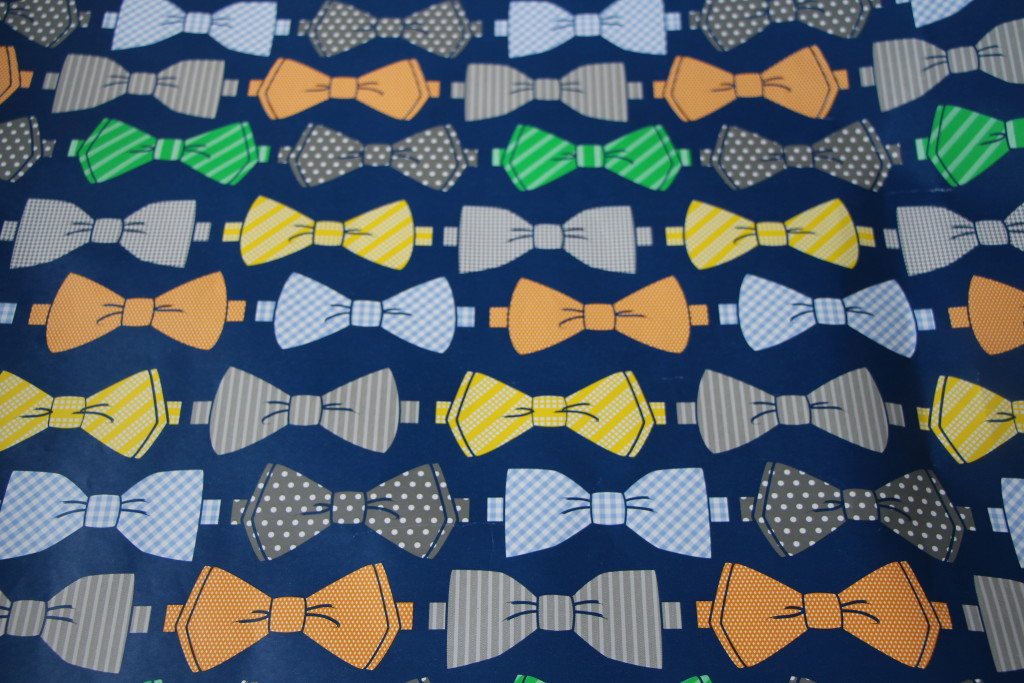 Bow Tie Wrapping paper   This is our Bliss