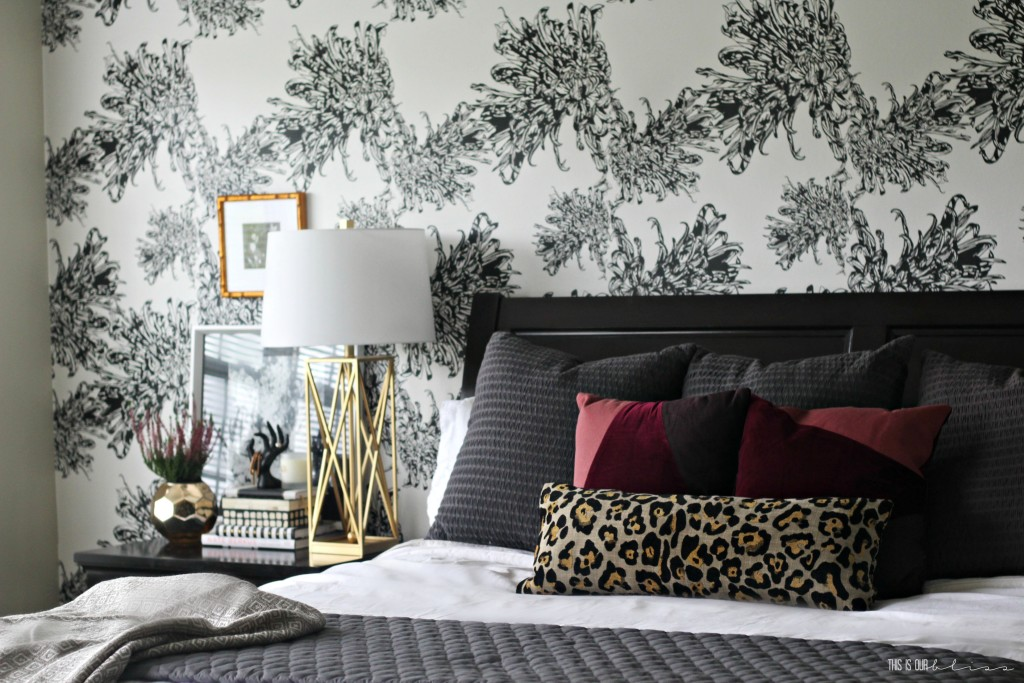 Stunning and chic wallpaper! | This is our Bliss