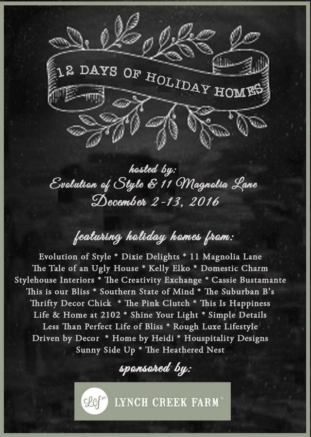 12 Days of Holiday Homes Tour | This is our Bliss