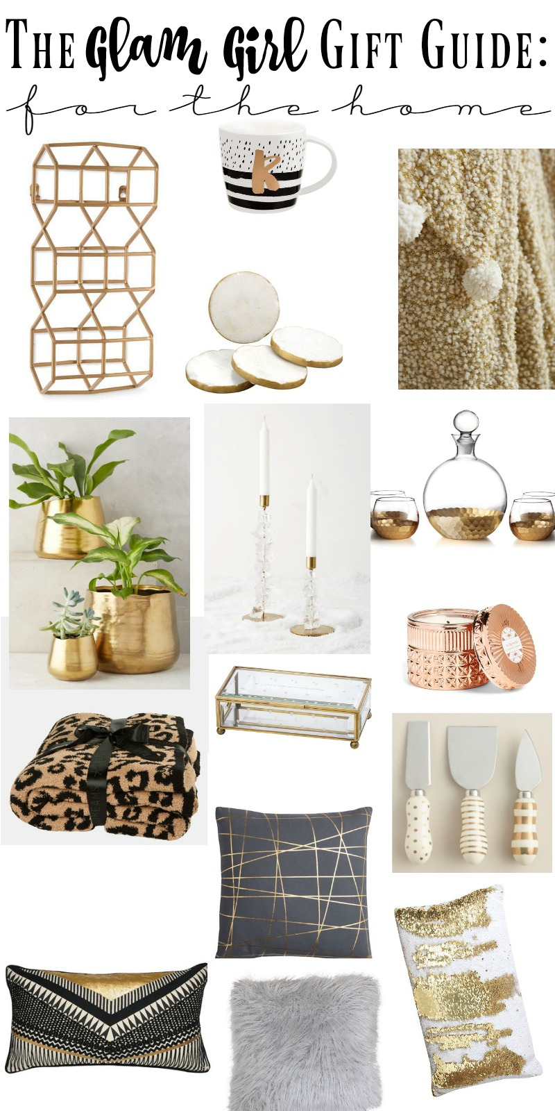 The Ultimate Glam Girl Gift Guide 2016 | This is our Bliss